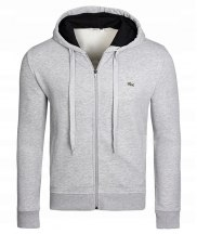 Bluza Lacoste Plain Jacket Grey