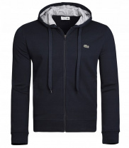 Bluza Lacoste Plain Jacket Navy