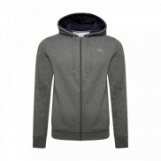 Bluza Lacoste Plain Jacket Charcoal