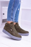 Big Star Sneakersy Trampki Khaki BB274648